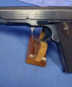 COLT 1911 APRIL 1918 BRUSHED BLUE SHARP PISTOL!