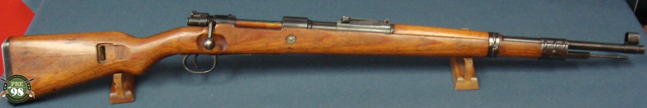 VERY RARE POST WAR FRENCH SVW MB 98K MAUSER RIFLE