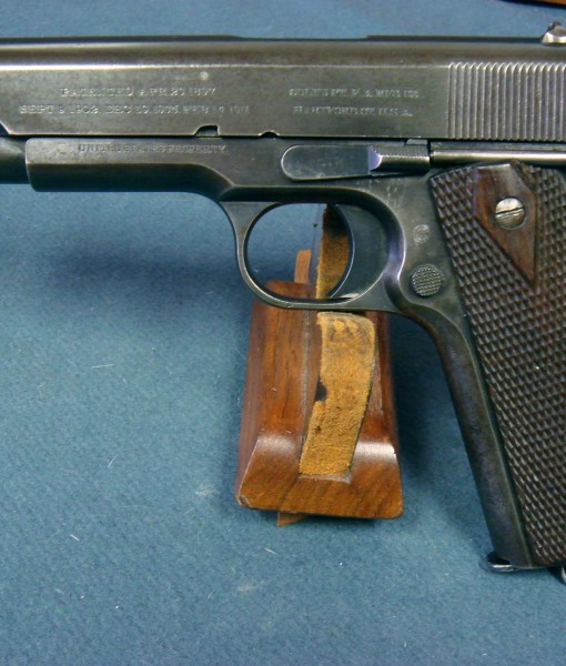 SOLD COLT 1911 US NAVY AUGUST, 1912 PRODUCTION     ULTRA RARE AND VERY  EARLY 4 DIGIT SERIAL NUMBER!!! | Pre98