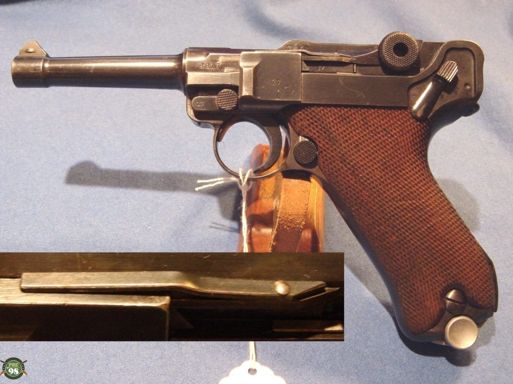 Sold MAUSER 1939 S/42 LUGER VERY RARE VARIENT POLICE LUGER | Pre98