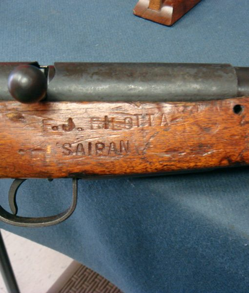 Sold JAPANESE WW2 TYPE 99 RIFLE     EARLY PRODUCTION NAGOYA 3rd  SERIES       NAMED USN VET BRINGBACK FROM SAIPAN | Pre98