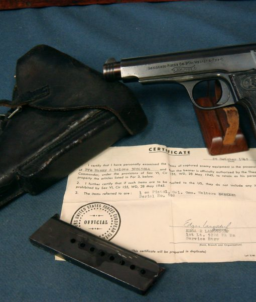 Walther Model 6 pistol