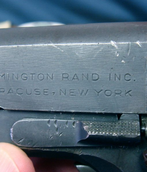SOLD US WW2 VERY DEC 1942 2ND MONTHS PRODUCTION REMINGTON RAND 1911A1  PISTOL     1509TH PISTOL PRODUCED! | Pre98