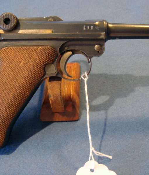 SOLD 1917 DWM LUGER WITH VERY RARE UNIT MARKING NICE!   Pre98