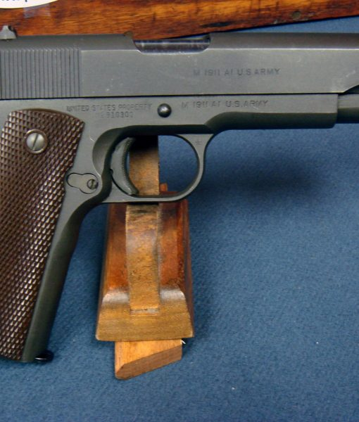 SOLD IMPORTANT US WW2 ITHACA 1911A1 PISTOL    AUGUST 1943  PRODUCTION     WITH RARE MARKED SLIDE     MINT CRISP! | Pre98