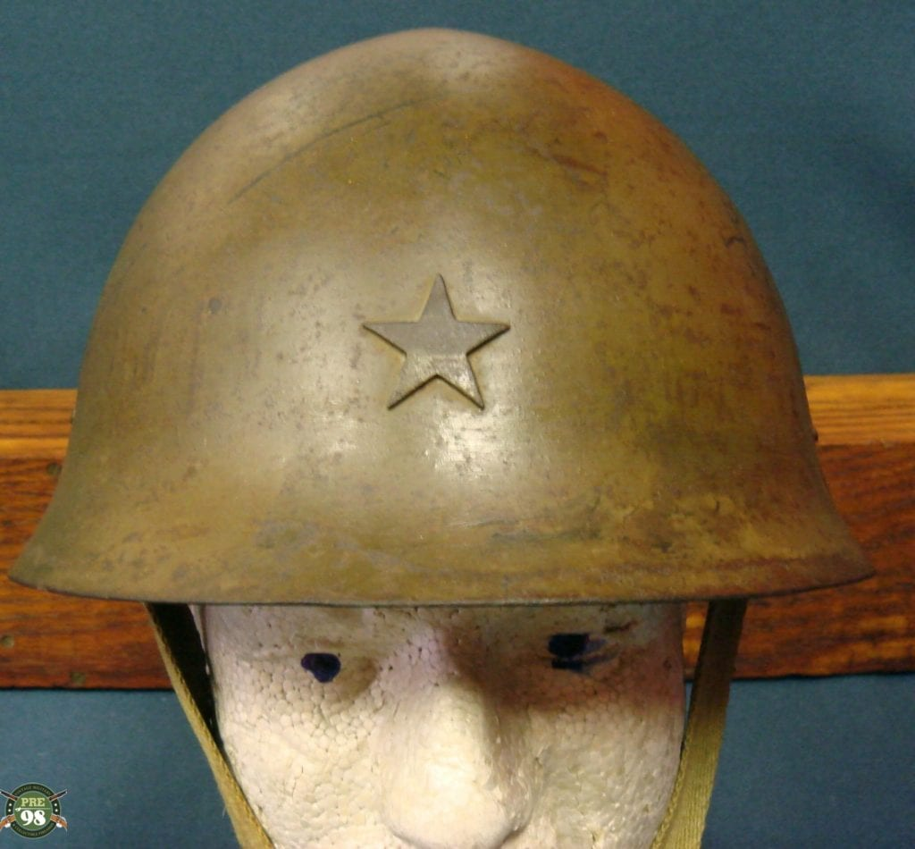 SOLD JAPANESE WW2 16 DATE (1941) TYPE 90 COMBAT HELMET ...