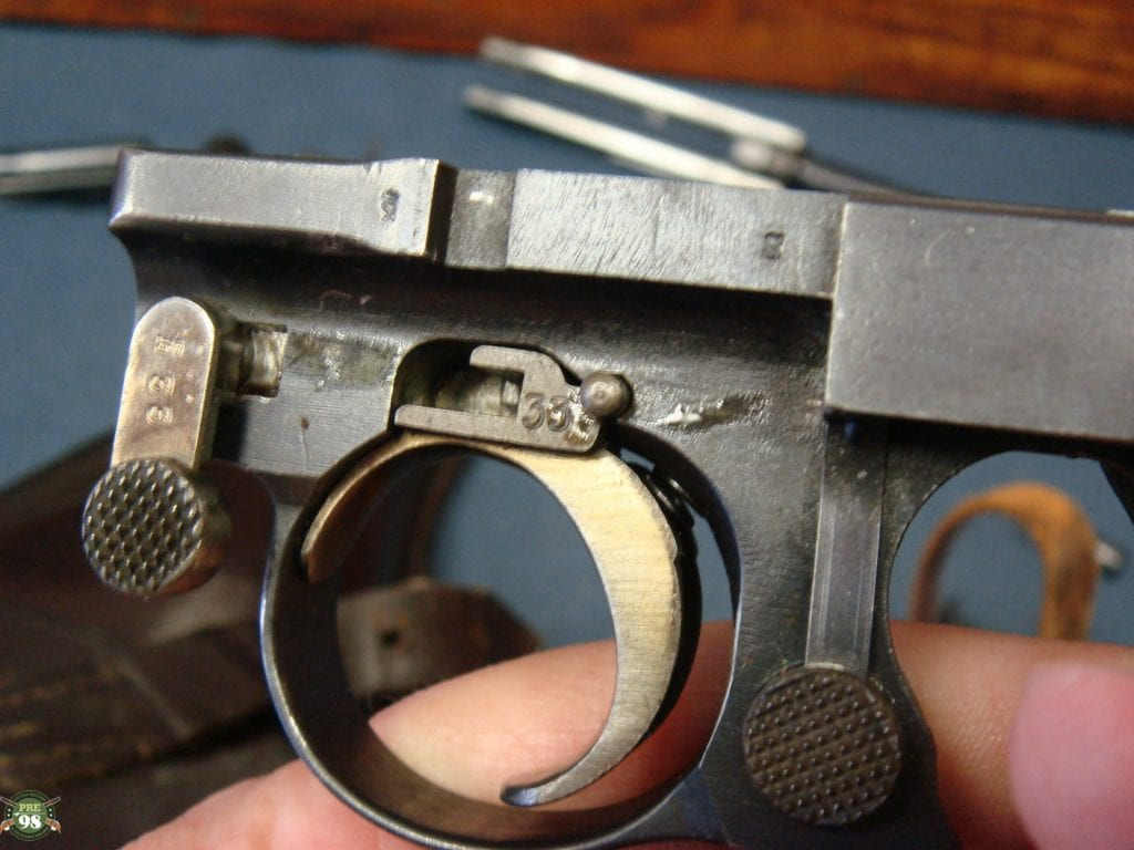 SOLD EXCEPTIONAL GERMAN ARMY ERFURT 1913 LUGER PISTOL       BOTH ORIGINAL  MATCHING NUMBERED MAGS MINT FULL RIG        STUNNING! | Pre98