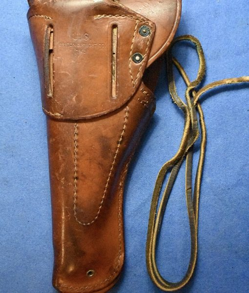 H-244    US WW2 COLT 1911 Holster marked GRATON & KNIGHT CO  1943