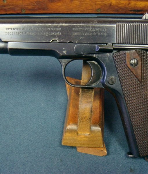 SOLD SCARCE BRITISH WW1 COLT 1911 GOVERMENT MODEL PISTOL  455  WEBLEY     EARLY 1916 SHIPMENT    WITH 9 PACKETS OF ORIGINAL AMMO! | Pre98