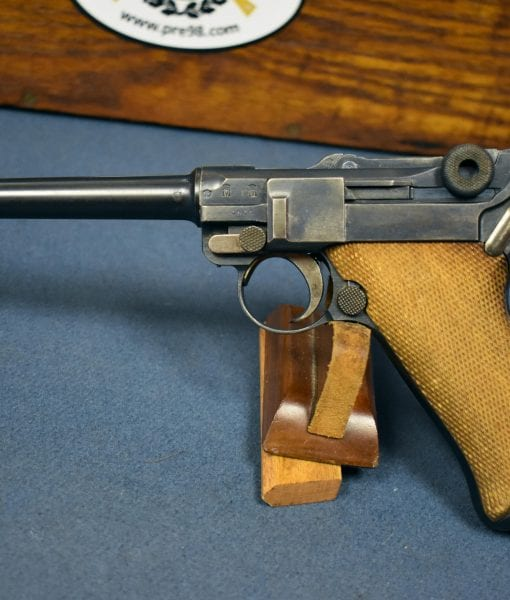 SOLD VERY SCARCE GERMAN WW1 IMPERIAL NAVY 1917 DATED P 08/14 NAVY  LUGER        WITH RARE 1917 NAVY HOLSTER     VERY SHARP! | Pre98