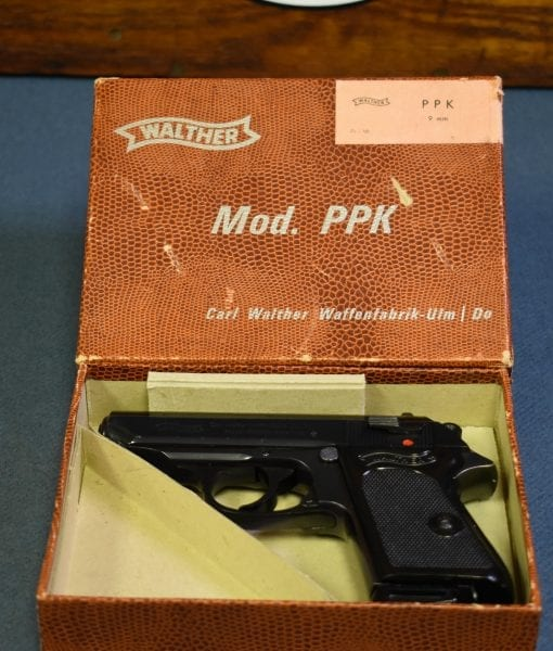 SOLD 1968 WALTHER PPK PISTOL     NON IMPORT      JAMES BOND
