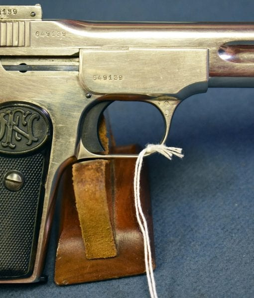 ULTRA RARE FN MODEL 1900 PISTOL WITH FACTORY NICKEL PLATING
