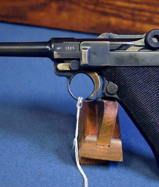 Mauser Banner Portuguese Model 1935/06 GNR Luger Pistol