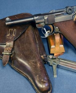 "DWM 1921 American Market ""SAFE & LOADED"" 7.65mm Luger Pistol"