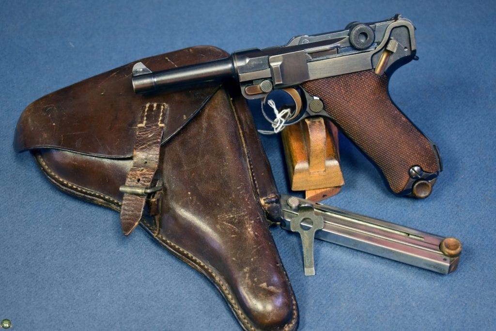 """DWM 1921 American Market """"SAFE & LOADED"""" 7.65mm Luger Pistol"""