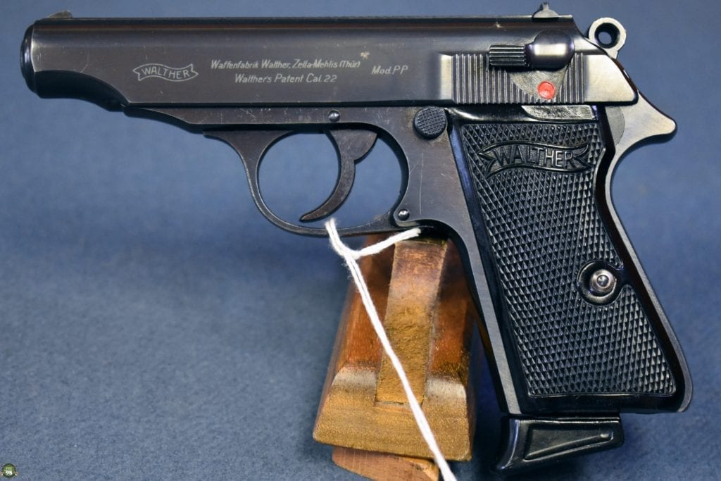 WARTIME WALTHER PP PISTOL IN .22LR