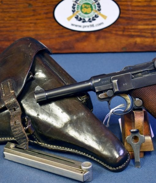 MAUSER S/42 CODE 1936 P.08 GERMAN ARMY LUGER