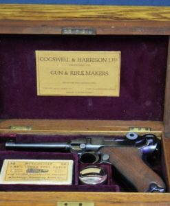 Cogswell & Harrison retailer sold 1906 DWM Luger