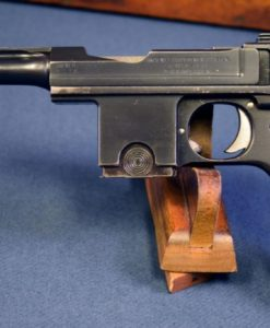 Danish Military M1910 Bergmann-Bayard Pistol