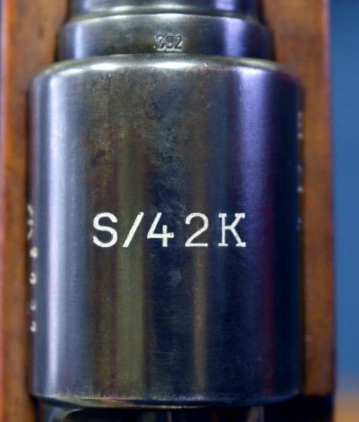 1934 S/42K K98k MAUSER RIFLE