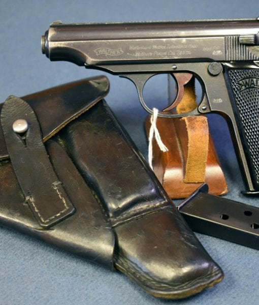 high polish commercial finish Waffenamted Walther PP Pistol