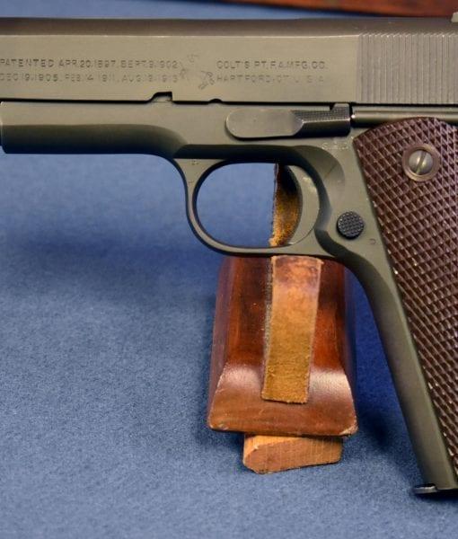 July, 1943 production Colt 1911a1 US Army Service Pistol