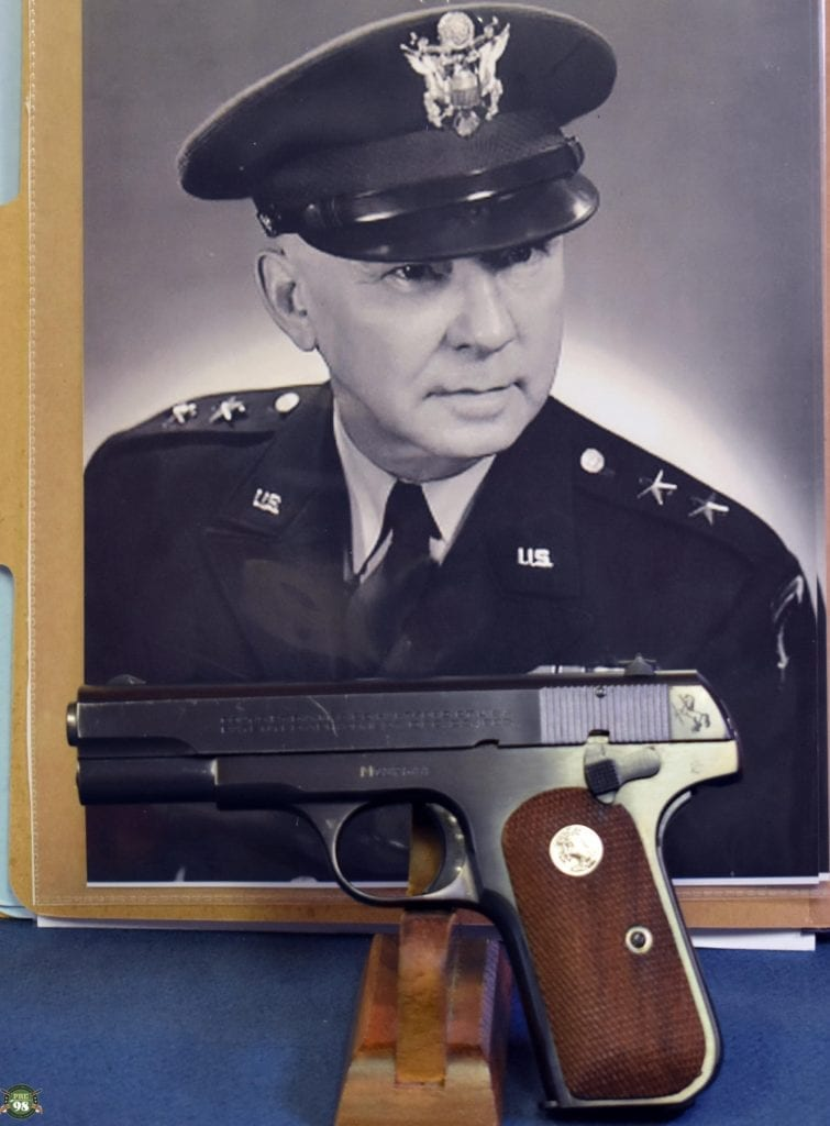 General Officers Pistol that was issued in 1951 To BG Carroll H. Deitrick