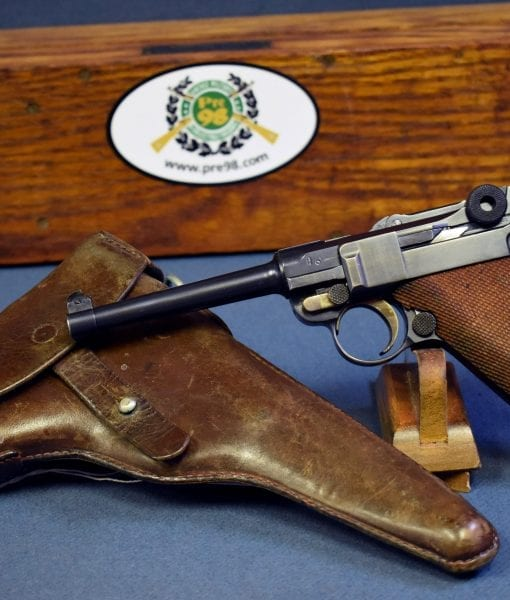 1906 Swiss Military Luger in .30 Luger caliber