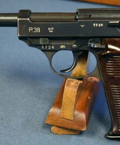 "SCARCE NAZI POLICE ""EAGLE L"" byf44 P.38 PISTOL"