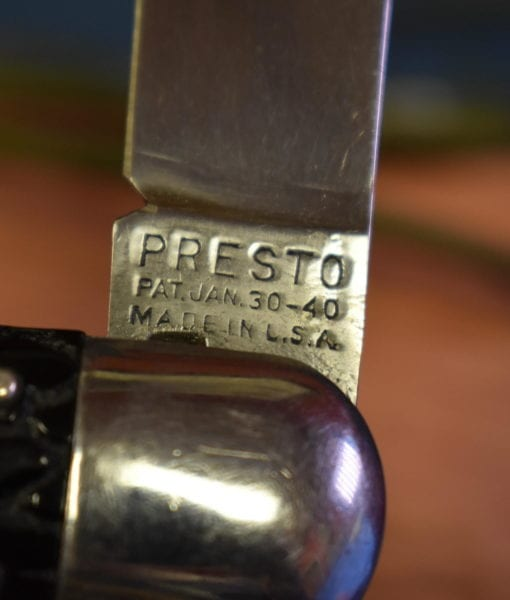 1940 PRESTO M2 PARATROOPERS SWITCHBLADE KNIFE
