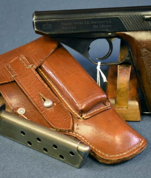 Police Eagle L proofed Mauser HSc pistol