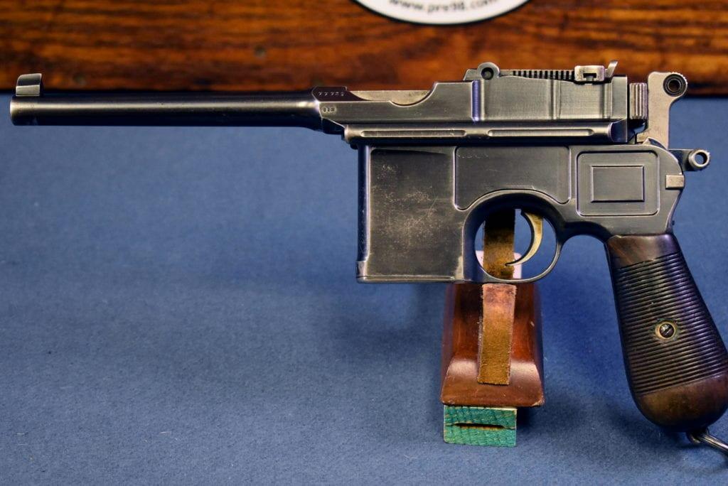 1905 Mauser C96 Broomhandle Pistol