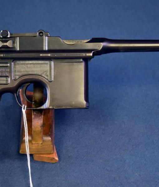 Mauser M1896/16RED 9Broomhandle Pistol