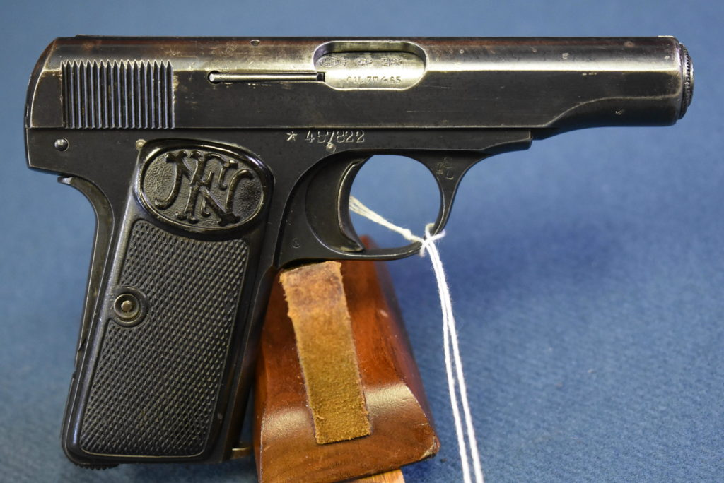 JAPANESE WW2 FN MODEL 1910 PISTOL