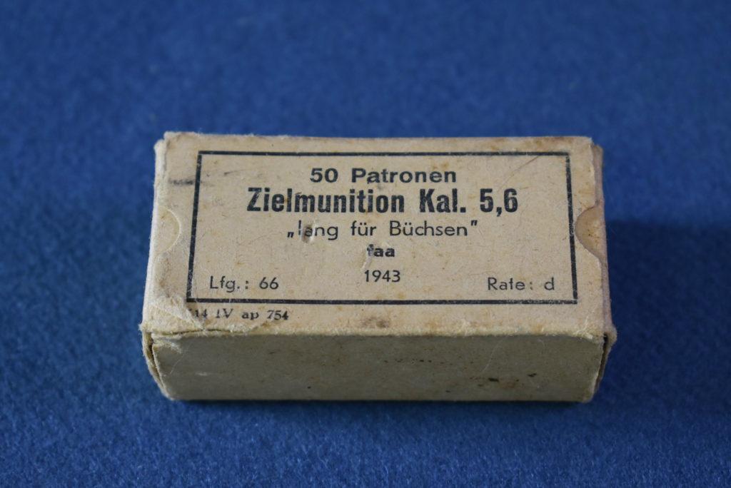 GERMAN WW2 .22LR MILITARY TRAINING AMMUNITION