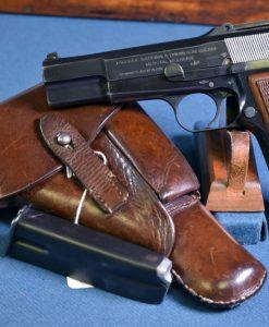 tangent sight FN High Power Pistol