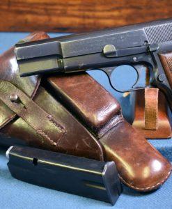 Nazi Occupation FN High Power Pistol