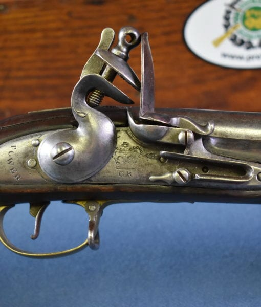 BRITISH ARMY 3RD MODEL BROWN BESS MUSKET AND BAYONET | Pre98