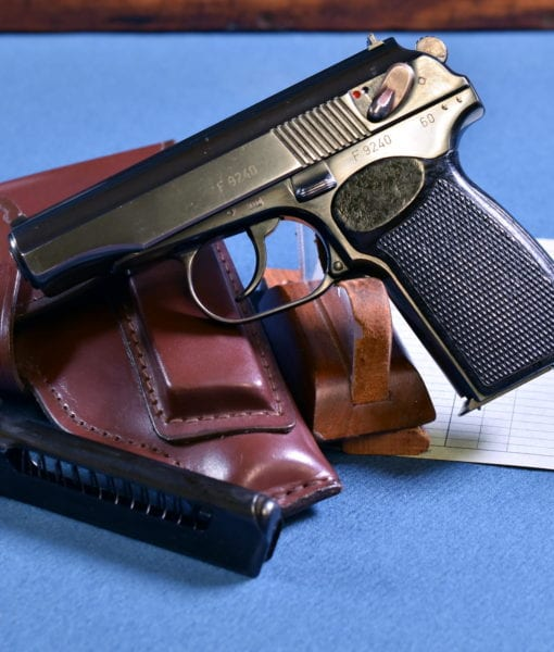 Pistole M Licensed Copy of the Soviet Makarov Pistol