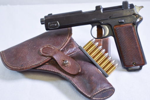 SCARCE GERMAN WW1 M1912 STEYR HAHN PISTOL