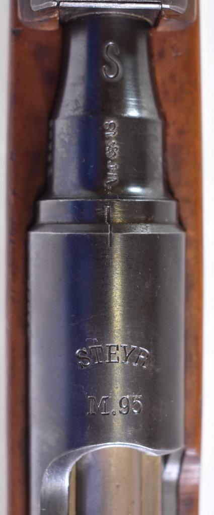 1918 dated Steyr M95/30 Stutzen Carbine