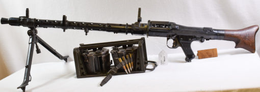 GERMAN WW2 dfb41 coded (Gustloff-Werke) MG-34 LIGHT MACHINE GUN