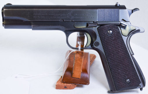1937 COLT 1911 TRANSITIONAL US NAVY CONTRACT SERVICE PISTOL