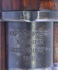 MAUSER OBERNDORF MADE 1895 DATED M1894 SWEDISH MAUSER CARBINE