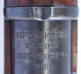 MAUSER OBERNDORF MADE 1895 DATED M1894 SWEDISH MAUSER CARBINE