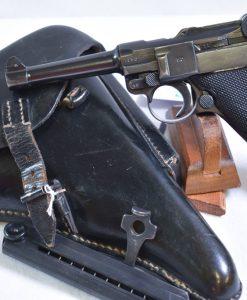 """byf42 """"Blake Widow"""" P.08 Luger Pistol"""
