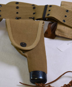 Mills made woven holster for the Colt 1911