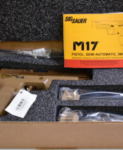 US ARMY ISSUED SIG M17 SERVICE PISTOL