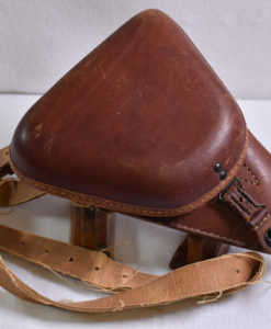 JAPANESE TYPE 14 NAMBU LEATHER CLAMSHELL HOLSTER