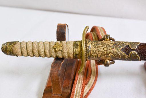 JAPANESE NAVAL OFFICERS 1883 PATTERN DIRK
